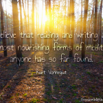 Reading and Writing as Meditation