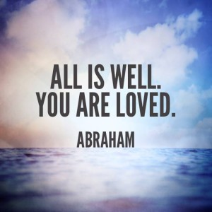 All Is Well. You Are Loved.