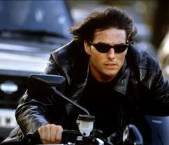 Tom Cruise Ethan Hunt motorbike